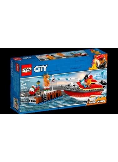 Lego Lego City Rıhtım Yangını 60213 Renkli